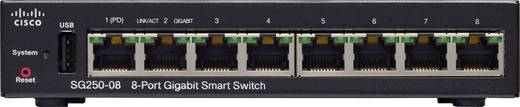 Cisco 250 Series SG250-08 - Switch - L3 Hálózati switch 8 port
