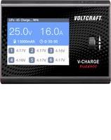 Modell multifunkciós töltő 12 V, 24 V 16 A VOLTCRAFT V-Charge Field 400 Ólom, LiFePO, LiHV, Lítiumion, LiPolimer, NiCd, VOLTCRAFT