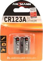 Ansmann CR17335 Fotóelem CR-123A Lítium 1375 mAh 3 V 2 db Ansmann