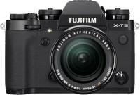 Fujifilm X-T3 XF18-55 mm Kit Rendszer-fényképezőgép 26.1 Megapixel Fekete 4k videó, Porvédett, Fröccsenő víz ellen véd Fujifilm