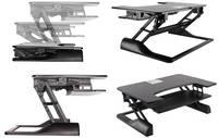 """NewStar NS-WS100BLACK 1 részes Monitor asztali tartó 25,4 cm (10"""") - 116,8 cm (46"""") Állítható magasságú, Billentyűzet ta NewStar"""