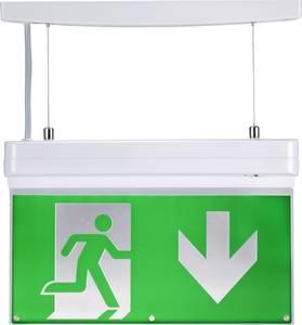 Sygonix Menekülési útvonal vészvilágítás Mennyezetre szerelhető, Fali rögzítés balra lefelé, jobbra lefelé, balra felfel Sygonix