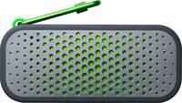 Boompods Blockblaster Bluetooth hangfal Kültéri, Vízálló Szürke, Zöld (BBGRN) Boompods
