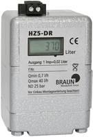 Fűtőolaj számláló 1 db HZ5 DR (F.T.) Braun Messtechnik (HW000407) Braun Messtechnik