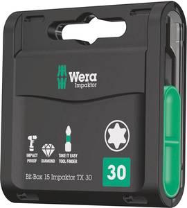 Bit készlet 15 részes Wera Impaktor 05057776001 (05057776001) Wera