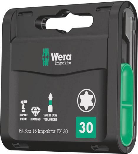 Bit készlet 15 részes Wera Impaktor 05057776001