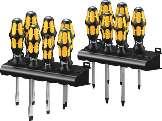 Csavarhúzó készlet 13 részes Wera Kraftform Big Pack 900