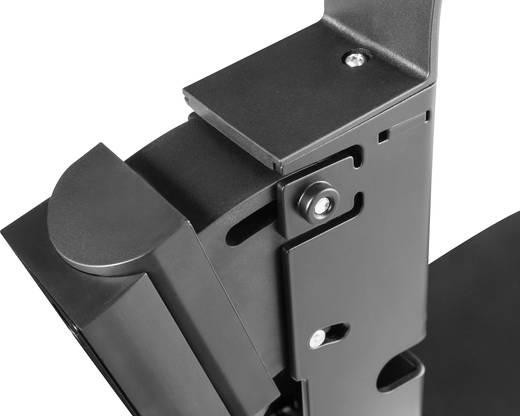 My Wall HS15L Hangfal fali tartó Dönthető + forgatható Max. faltól való távolság: 249 mm Fekete 1 pár