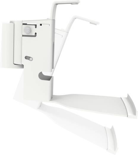 My Wall HS15WL Hangfal fali tartó Dönthető + forgatható Max. faltól való távolság: 249 mm Fehér 1 pár