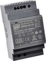 Mean Well HDR-60-48 Kalapsínes tápegység 48 V/DC 1.25 A 60 W 1 x (HDR-60-48) Mean Well