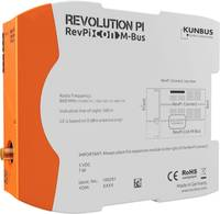 Busz modul Kunbus RevPi Con MBUS Kunbus