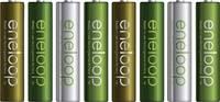 Mikroakku NiMH Panasonic eneloop Botanic Limited-Edition, HR03 750 mAh 1.2 V 8 db (BK-4MCCE/8TE) Panasonic