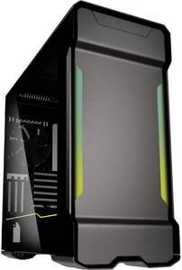 Phanteks PH-ES518XTG_DAG01 Midi torony Számítógép ház Antracit 3 előretelepített hűtő, Beépített világítás, Oldalsó szél Phanteks
