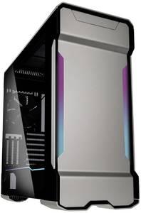 Phanteks PH-ES518XTG_DGS01 Midi torony Számítógép ház Ezüst 3 előretelepített hűtő, Beépített világítás, Oldalsó szélvéd Phanteks