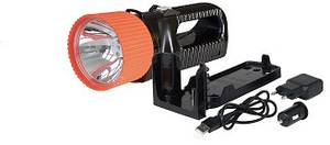 AccuLux 442181 Akkus kézi fényszóró UniLux 7 Fekete, Narancs LED 6 óra AccuLux