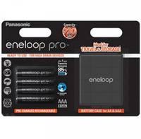 Mikroakku NiMH Panasonic eneloop Pro HR03 Box 900 mAh 1.2 V 4 db (BK-4HCDEC4BE) Panasonic
