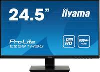 Iiyama ProLite E2591HSU LED monitor (felújított) 62.2 cm (24.5 coll) EEK A+ (A+++ - D) 1920 x 1080 pixel Full HD 1 ms VG Iiyama