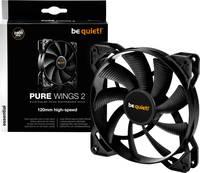 BeQuiet Pure Wings 2 Számítógépház ventilátor Fekete (Sz x Ma x Mé) 120 x 120 x 25 mm (BL080) BeQuiet