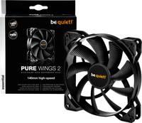 BeQuiet Pure Wings 2 PWM Számítógépház ventilátor Fekete (Sz x Ma x Mé) 140 x 140 x 25 mm (BL083) BeQuiet