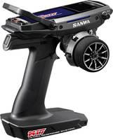 SANWA M17 Pisztolymarkolatos távirányító 2,4 GHz Csatornák: 4 Vevővel (SAN-101A32471A) SANWA