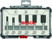 Bosch horonyvágó készlet, 6 db, 6 mm-es szár Bosch Accessories 2607017465 Bosch Accessories