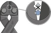 Csapszegvágó 200 mm Gedore 8340-200 JL 65 HRC (2541300) Gedore