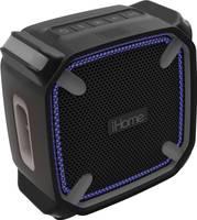 iHome iBT371 weatcher Touch Bluetooth hangfal Kihangosító funkció, Kültéren alkalmas, Ütésálló Fekete (iBT371) iHome