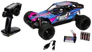 Carson Modellsport Cage Devil FE Brushed 1:10 RC modellautó Elektro Buggy 2WD 100% RtR 2,4 GHz Akkuval, töltőkészülékkel Carson Modellsport