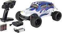 Carson Modellsport VW Beetle FE 1:10 RC modellautó Elektro Terepjáró 2WD 100% RtR 2,4 GHz Akkuval, töltőkészülékkel és Carson Modellsport