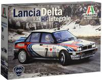 Italeri 510003658 Lancia HF Integrale Autómodell építőkészlet 1:24 Italeri