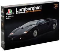 Italeri 510003684 Lamborghini Countach 25th Anniversary Autómodell építőkészlet 1:24 Italeri