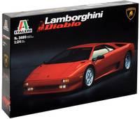 Italeri 510003685 Lamborghini Diablo Autómodell építőkészlet 1:24 Italeri