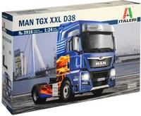 Italeri 510003916 MAN TGX XXL D38 E6 Kamionmodell építőkészlet 1:24 (510003916) Italeri