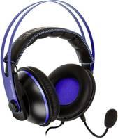 Asus Cerberus V2 Stereo Headset játékhoz 3,5 mm-es jack Vezetékes Over Ear Fekete, Kék (90YH016B-B1UA00) Asus