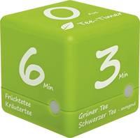 TFA Dostmann Tee-Timer Cube Időzítő Zöld digitális TFA Dostmann