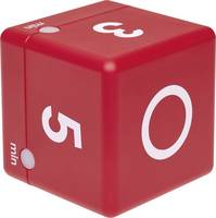 TFA Dostmann Timer Cube Időzítő Piros digitális TFA Dostmann
