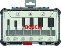 Bordázó maró készlet, 1/4 hüvelykes szár, 6 darab Bosch Accessories 2607017467 Bosch Accessories
