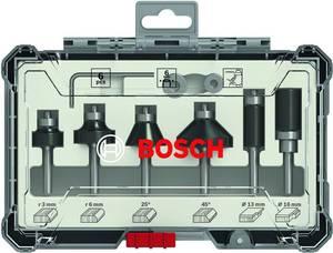 Bosch vágó- és szegélyvágó készlet, 6 db, 6 mm-es szár. Bosch Accessories 2607017468 (2607017468) Bosch Accessories