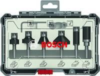 Perem- és élmaró szett, 1/4 hüvelykes szár, 6 db Bosch Accessories 2607017470 Bosch Accessories