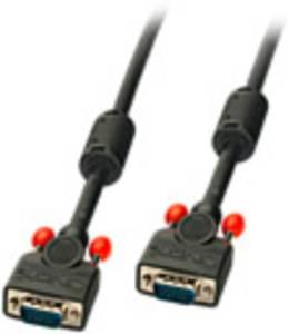 LINDY VGA Csatlakozókábel [1x VGA dugó - 1x VGA dugó] Fekete LINDY