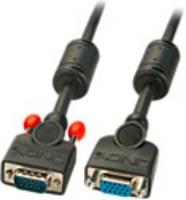 LINDY VGA Hosszabbítókábel [1x VGA dugó - 1x VGA alj] Fekete (36450) LINDY