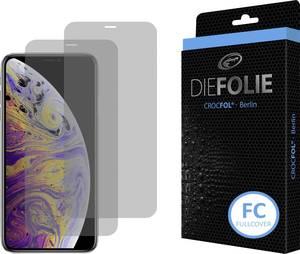 Crocfol DF4802-FC Kijelzővédő fólia Alkalmas: Apple iPhone XS 1 db Crocfol
