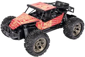 Carson Modellsport Metal Crusher Brushed 1:12 RC modellautó Elektro Buggy 2WD 100% RtR 2,4 GHz Carson Modellsport