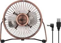 Goobay USB-s asztali ventilátor 2.5 W (Ø x Ma) 130 mm x 160 mm Bronz Goobay