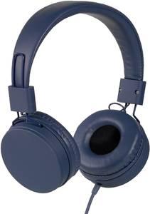 Vivanco NEOS HiFi On Ear fejhallgató On Ear Fülkengyel Kék Vivanco