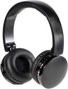 Vivanco NEOS AIR Bluetooth® HiFi On Ear fejhallgató On Ear Összehajtható, Headset, Fülkengyel Fekete Vivanco