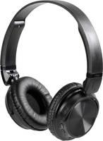 Vivanco MOOOVE AIR BLACK Bluetooth® HiFi On Ear fejhallgató On Ear Összehajtható, Headset, Fülkengyel Fekete Vivanco