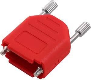 D-SUB ház Pólusszám: 15 100% poliészter 180 ° Piros encitech DPPK15-FMR-K 1 db encitech