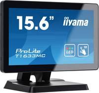 """Iiyama Prolite T1633MC-B1 Érintőképernyős monitor 39.6 cm (15.6 """") EEK: B (A - G) 1366 x 768 pixel 16:9 8 ms VGA, HDMI™, (T1633MC-B1) Iiyama"""