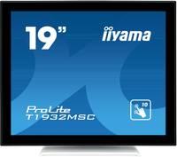 "Iiyama Prolite T1932MSC-W5AG Érintőképernyős monitor 48.3 cm (19 "") EEK: B (A++ - E) 1280 x 1024 pixel 5:4 14 ms VGA, HD Iiyama"